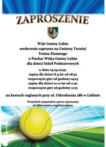 tenis plakat dzieci