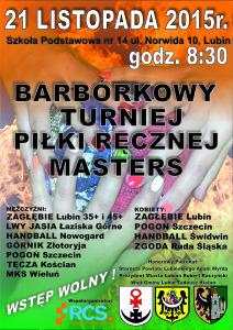 plakat turniej Masters