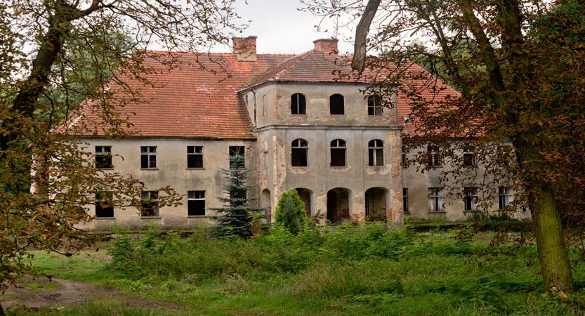 pałac w składowicach