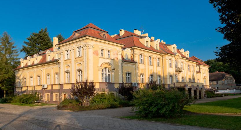 pałac w szklarach gónych