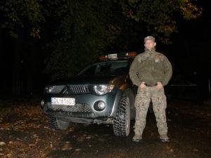 Ryszard Lech - Komendant Straży Leśnej w Legnicy